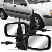 Par Espelho Retrovisor Fiesta 96 97 98 99 2000 A 2003 Manual