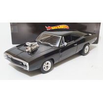 Dodge Charger 1970 Rápido Y Furioso Escala 1:18 Hot Wheels