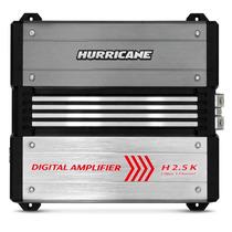 Módulo Amplificador Hurricane 2500w Rms 1 Canal Mono Carro