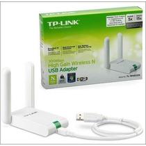 Adaptador Wifi Usb Tplink Tl-wn822n 300mbps 2.4ghz Insumosft