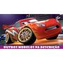 Painel Banner Lona Decorativo Festa Carros Disney Cars 2x1m