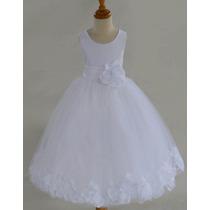 Vestido Niña Importado Fiesta Bautizo Bebe Elegante Gala