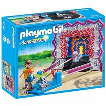 Playmobil Parque De Diversões Tiro Ao Alvo 5547