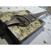 Cigar Box Guitar 6 Cordas