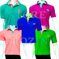 Kit 5 Camisas Polo Masculina Atacado Camisetas Polo Blusas