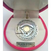 Importante Dije Ojo De Horus Plata Y Oro