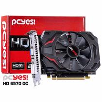Placa De Video Amd Radeon Hd6570 Oc Edition 2gb Ddr3 128 Bit