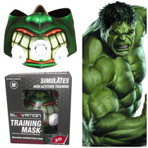 Elevation Training Mask 2.0 Mascara Entrenamiento Hulk