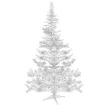 Árvore De Natal Branca Alemã 120cm 97 Galhos