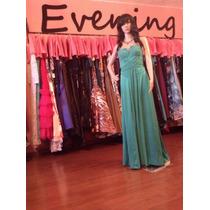 Vestido Fiesta Noche Alta Costura Bcbg Talla 2 $480 Dlls