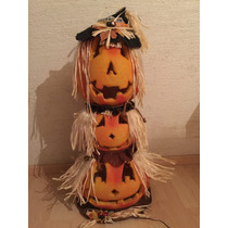 Halloween Calabazas Con Luz