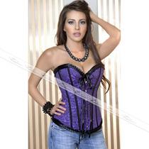 Cinta Modeladora Espartilho Corselet Blusa Sexy Corpet Top