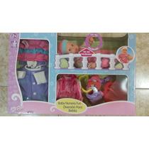 Muñeca Baby Nursery Fun Diversión Para Bebes