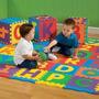 Alfombra Rompecabezas Para Niños Decorativos Y Antigolpes
