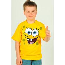 Camisa Infantil Bob Esponja