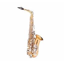 Saxofone Alto Michael Eb Dourado Wasm 49
