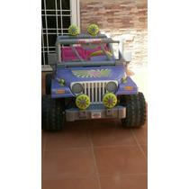 Jeep A Batería 12 Volt. Marca Power Wheels