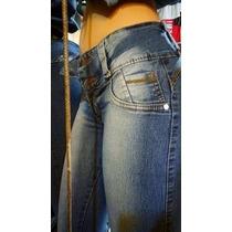 Jeans Elastizados Chupines, Levanta Cola X 12 Unidades