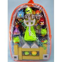 Angry Birds Brinquedo Completo Com Lançador E Bonecos!