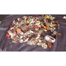 Lote Coleção 200 Chaveiro Chaveiros Antigo Metal Antigo