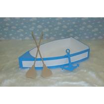 Barco Em Madeira Acessório Fotografico Newborn