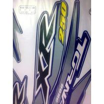 Adesivo Jogo Tornado Xr250 2005 Azul Completo