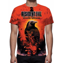 Camisa, Camiseta Game Resident Evil Deadly Silence