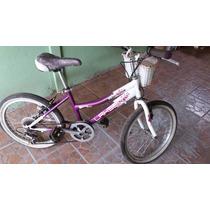 Bicicleta De Niña Usada Lahsen Aro 20 Buen Estado