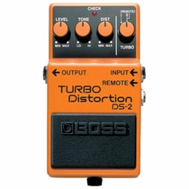 Boss Ds-2 Turbo Distortion Pedal Para Guitarra