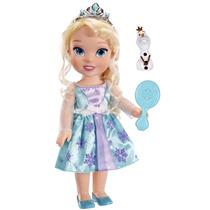 Muñeca Pequeña Elsa De Disney Azul