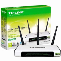 Router 3 Antenas Tp Link Wr940nd. Mundo Black