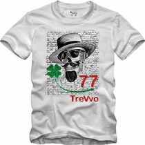 Camisa Camiseta Swag Trevvo 77 Ecologic Fio 30 Penteado Slim