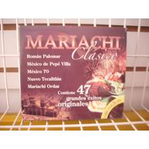 Mariachi Clásico - 47 Exitos Cd Triple En Muy Buen Estado
