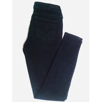 16.500bs Pantalón Negro Levis T-28 Dama Jeans Mujer Ropa Usa