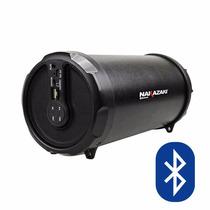 Bocina Portátil Con Subwoofer Nakazaki Bt228 Bluetooth Litio