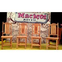 Cadeiras Maciça Em Angelim Sob Medida (poltrona, Banco,sofá)
