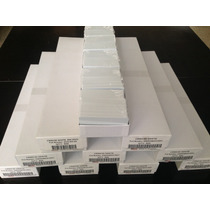 Tarjetas De Pvc (30 Mil) Para Zebra, Fargo, Datacard, Evolis