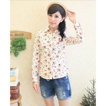 Bl1165 Camisera Floral Blanca, It Girls Colombia