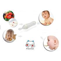 Alimentador Bebê Silicone Colher Dosadora Mamadeira 90ml