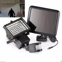 Reflector Solar Lampara 60 Led Sensor De Movimiento El Mejor