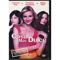 La Cosa Más Dulce - Cameron Díaz - C. Applegatte - 1 Dvd