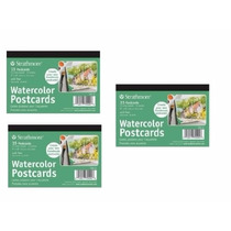 Strathmore 400 Series Watercolor Postcard 15 Cards In Each P