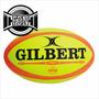 Pelota Rugby Gilbert N°5 Match Omega Reglamentaria Nocturna