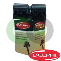 Bobina De Ignição Delphi Corsa 1.0 1.4 1.6 Mpfi