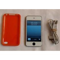 Ipod Touch 4g De 32gb, Color Blanco, En Buen Estado