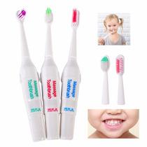 Cepillo Dental Electrico Ultrasonico Para Niños Y Adultos