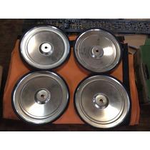 Jogo Calota Ford Corcel Belina 1 Aço Inox 72-73 Original 71