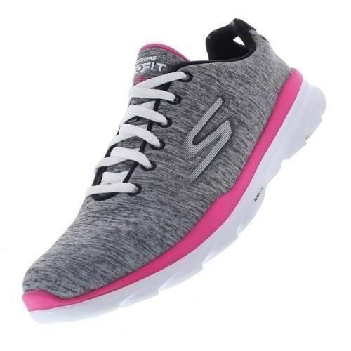 a6ce2e0665 Tenis Feminino Skechers Go Walk 3 14086-gyhp - R  249