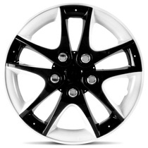 Calota Aro 14 E Aro 13 Tuning Ring Black White