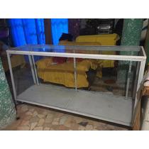 Vitrina Exhibidora Recta Metalica 1.80 Mts